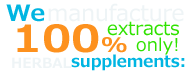 We manufacture 100% Extracts Only Ayurveda products: